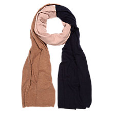 Buy Hobbs Anne Cat Scarf, Toast Multi Online at johnlewis.com