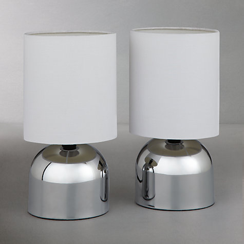 Buy John Lewis The Basics Lucy Touch Lamp Duo, Set of 2 Online at johnlewis.com