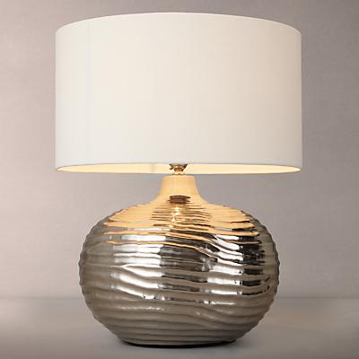 John Lewis Ise Waves Metal Table Lamp