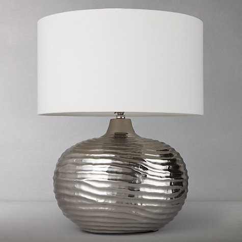 Buy John Lewis Ise Waves Metal Table Lamp Online at johnlewis.com