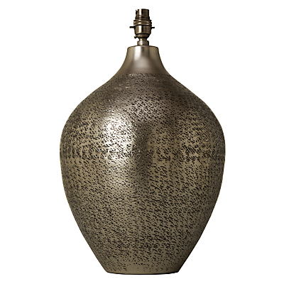 John Lewis Akita Textured Fusion Pot Lamp Base