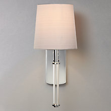 Buy ASTRO Delphi Crystal Wall Light, Chrome Online at johnlewis.com