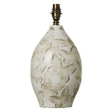 Buy John Lewis Papillon Butterfly Lamp Base Online at johnlewis.com