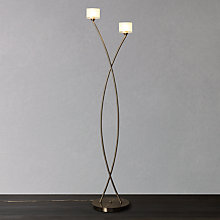 Buy John Lewis Paige Floor Lamp, Satin Nickel Online at johnlewis.com