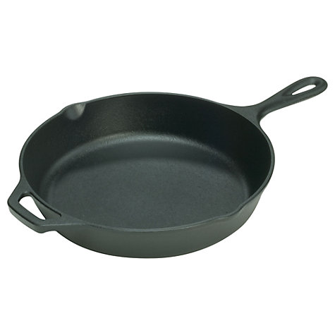 Buy Lodge Round Cast Iron Skillet, Dia.20cm Online at johnlewis.com
