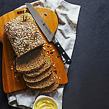 Seeded Granary Bread with Honey, Rosemary and Sea Salt by Sally Clarke