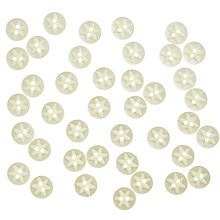 Buy John Lewis Star Fish Eye Buttons, 12mm, Pack of 40 Online at johnlewis.com