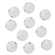 Buy John Lewis Shank Buttons, 18mm, Pack of 10, Clear Online at johnlewis.com