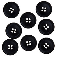 Buy John Lewis Gent's Buttons, 22mm, Pack of 8 Online at johnlewis.com