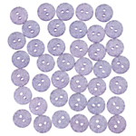 John Lewis Sparkle Buttons, 13mm, Pack of 40, Blue