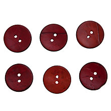 Buy John Lewis Coconut Buttons, 23mm, Pack of 6 Online at johnlewis.com