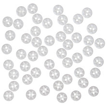 Buy John Lewis Star Fish Eye Buttons, 10mm, Pack of 50 Online at johnlewis.com