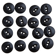 Buy John Lewis Fish Eye Button, 19mm, Pack of 15 Online at johnlewis.com
