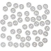 Buy John Lewis Mottled Buttons, 11mm, Pack of 50, White Online at johnlewis.com