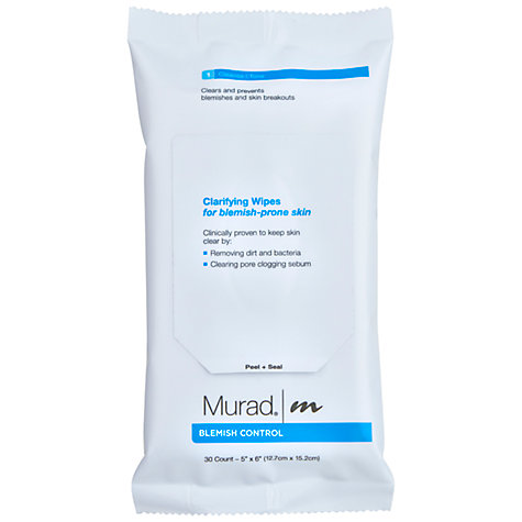 Buy Murad Blemish Clarify Wipes Online at johnlewis.com