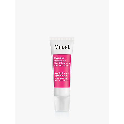 Buy Murad Balancing Moisturizer Broad Spectrum SPF 15  PA++ Online at johnlewis.com