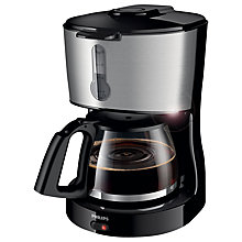 Buy Philips HD7458/00 Phoenix Filter Coffee Machine, Black Online at johnlewis.com