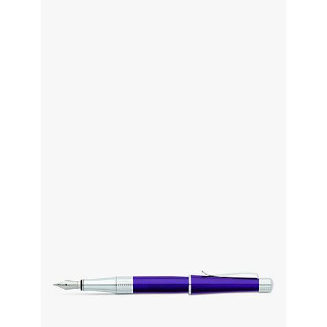 Buy Cross Beverly Fountain Pen, Purple Online at johnlewis.com