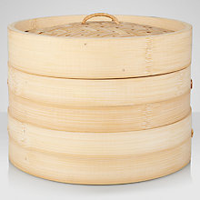 Buy John Lewis Oriental Bamboo Steamer Online at johnlewis.com