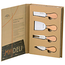 Buy Arthur Price My Deli Cheese Knives, Set of 4 Online at johnlewis.com