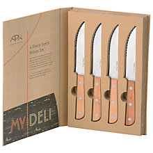 Buy Arthur Price My Deli Steak Knives Online at johnlewis.com