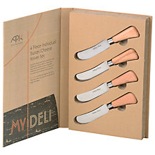 Buy Arthur Price My Deli Butter Knives, Set of 4 Online at johnlewis.com