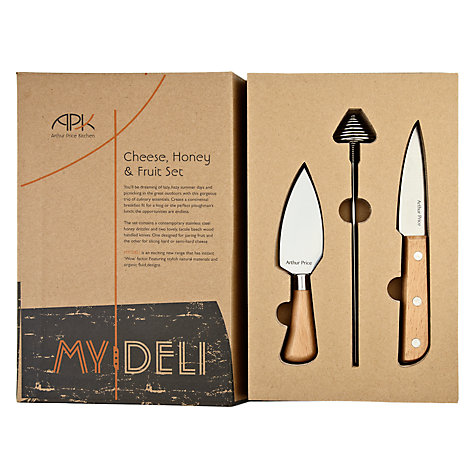 Buy Arthur Price My Deli Cheese Knife & Honey Drizzler Online at johnlewis.com