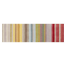 Buy John Lewis Multi Stripe Runner, Spectrum, L240 x W70cm Online at johnlewis.com