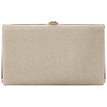 Buy Dune Burex Glitter Box Clutch Bag Online at johnlewis.com