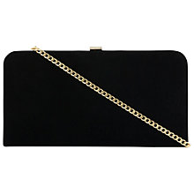 Buy Dune Emmie Clutch Bag, Black Online at johnlewis.com
