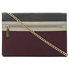 Buy Dune Ezip Front Zip Foldover Clutch Bag Online at johnlewis.com