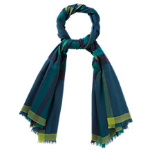 Buy Viyella Oversized Scarf, Sapphire Online at johnlewis.com