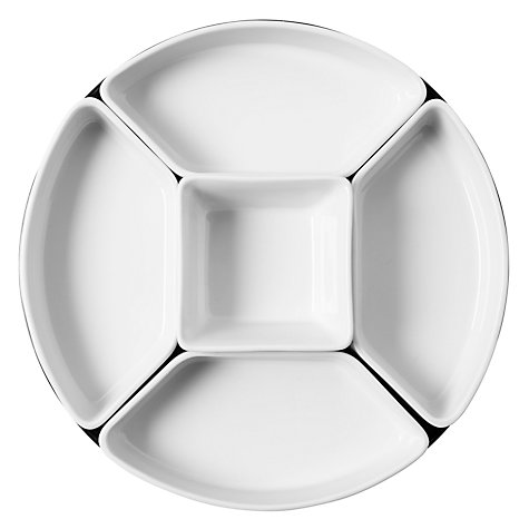 Buy John Lewis Lazy Susan, Dia.24cm, White Online at johnlewis.com