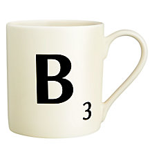 Buy Wild & Wolf A-Z Scrabble Mugs Online at johnlewis.com