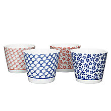 Buy John Lewis Oriental Tea Cups, Set of 4 Online at johnlewis.com