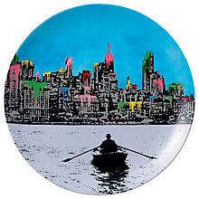 Buy Royal Doulton Street Art Nick Walker Ed New York Plate Online at johnlewis.com