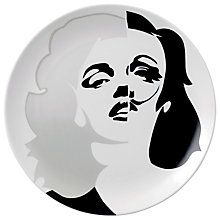 Buy Royal Doulton Street Art Pure Evil Marilyn Marlene Dali Plate Online at johnlewis.com