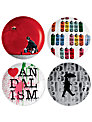 Royal Doulton Street Art Nick Walker Plates, Set of 4