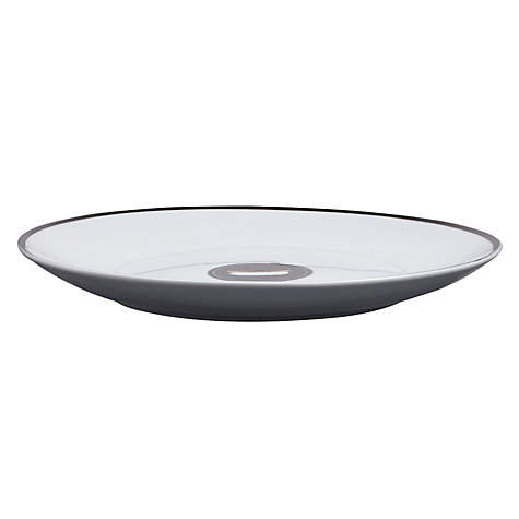 Buy John Lewis Diner Hotdog Plate, Black Online at johnlewis.com