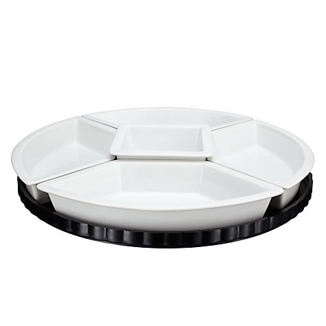 Buy John Lewis Lazy Susan, Dia.34cm, White Online at johnlewis.com
