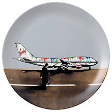 Buy Royal Doulton Street Art Nick Walker Ed Vandal Airways Plate Online at johnlewis.com