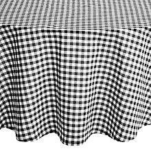 Buy John Lewis Diner Round Checked Tablecloth, Dia.180cm Online at johnlewis.com