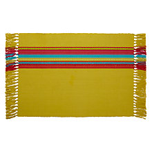 Buy John Lewis Cabo Placemat, Set of 2 Online at johnlewis.com