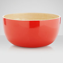 Buy John Lewis Bamboo Bowl Online at johnlewis.com
