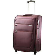 Buy Carlton Orchid Expandable 2-Wheel Cabin Suitcase, Purple Online at johnlewis.com