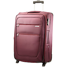 Buy Carlton Orchid Expandable 2-Wheel Large Suitcase, Purple Online at johnlewis.com