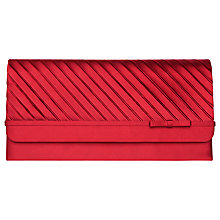 Buy Phase Eight Adele Clutch Bag, Ruby Online at johnlewis.com