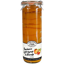 Buy Cottage Delight Peaches in Brandy, 600g Online at johnlewis.com