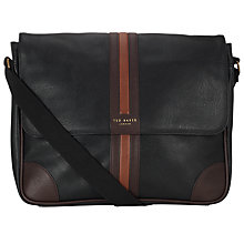 Buy Ted Baker Stripe Messenger Bag Online at johnlewis.com