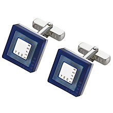 Buy Ted Baker Laser Cut Square Cufflinks Online at johnlewis.com